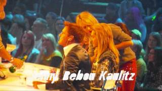 Bill & Tom kaulitz & Natalie Franz Live show DSDS 3 ( 30/03/2013)
