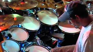 willie nelson on the road again drum cover