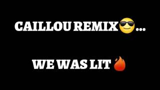 CAILLOU THEME SONG REMIX ( prod. By Attic Stein Beats ) ( Official Dance Video )
