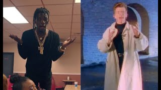 Rick Astley Gone Bad and Boujee
