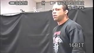 BRIGA REAL  NO MMA