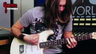 Can't Stop (Red Hot Chili Peppers) - Main Riff - Guitar Tutorial with Paul Audia
