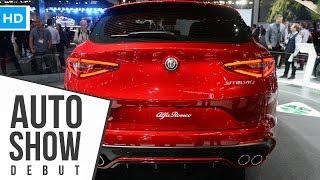 2018 Alfa Romeo Stelvio SUV Official