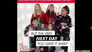 La boite a questions des kids united nouvelle generation