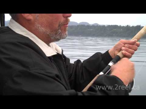 Fishing for Coho and Springs in Sooke, BC with underwater video.