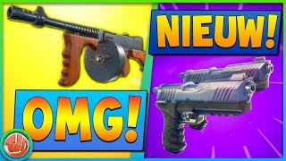 *LEAKED* DRUM GUN & *NIEUWE* DUAL PISTOLS!!! - Fortnite: Battle Royale