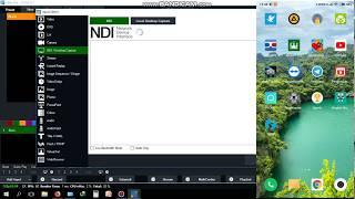 Input 2 kamera android/ lebih ke Vmix Menggunakan NDI