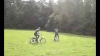Avans intro - Virgo - Geblinddoekt fietsen