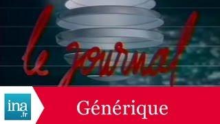Générique 20h Antenne 2 1989 - Archive INA