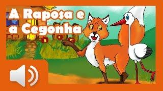A Raposa e a Cegonha - Histórias infantis em português