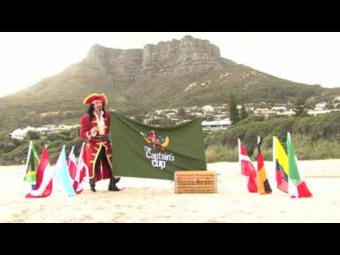 Captain Morgan Needs YOU to Captain Ireland in the Captain's Cup in South Africa…