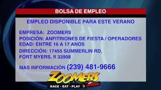 Zoomers busca empleados para estas vacaciones de Verano