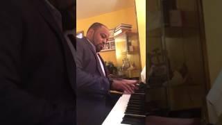"""Lately"" -Stevie Wonder/Jodeci -(Piano Cover)"