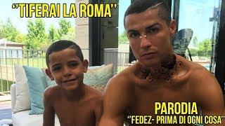Fedez - Prima di ogni cosa *PARODIA* ''TIFERAI LA ROMA''-CR7EZ