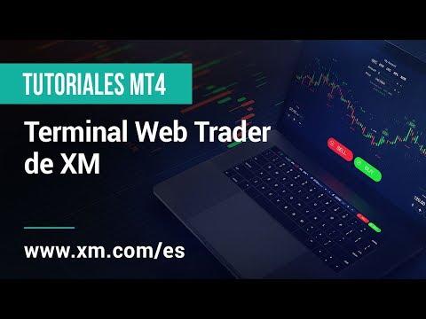 Terminal Web Trader de XM
