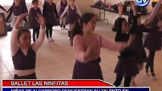 BALLET LAS NINFITAS DEMUESTRAN SU GRAN PASIÓN POR LA DANZA, 20 DE OCTUBRE 2014