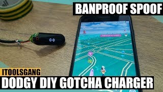 Lost Gotcha charger? Make one from old USB cable!