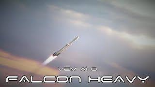 Vem aí o Falcon Heavy, foguete americano mais poderoso desde a ida à Lua