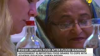 Bangladesh imports food grains after flood warning