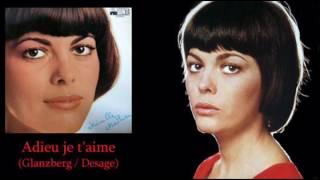 Mireille Mathieu Adieu, je t'aime // Adio, te iubesc