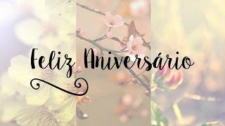 Parabéns pelo seu Aniversário
