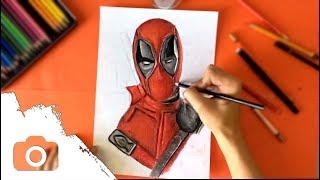 Deadpool drawing /H0NZAJS