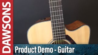 Yamaha FGX800C Electro Acoustic Guitar Review