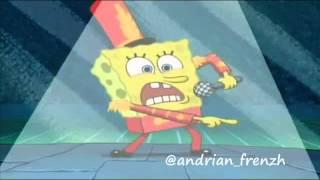 Vidio sponsbob lucu menyanyikan lagu judi