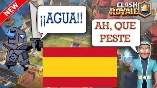 ¡¡Las Tropas De Clash Royale HABLAN ESPAÑOL!! - Parodia soundtrack clash royale by decusrunner