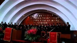 Coro del STPM   'Salmo 133 Como el Rocío' en la INP 'Príncipe de Paz' Centro
