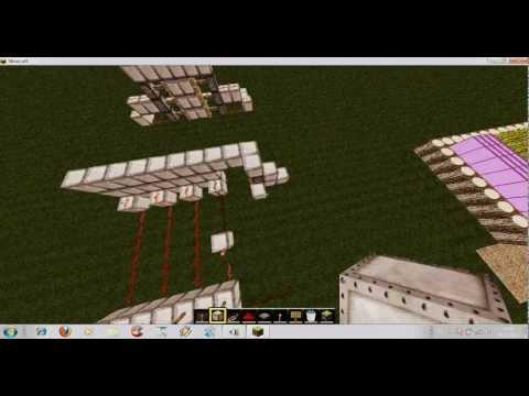 Bora İle Minecraft Bölüm;1 Otomatik Kapi Ve Şifreli Kapi Yapımı
