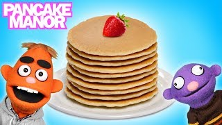 PANCAKE PARTY♫ | Learning Foods | Kids Songs | Pancake Manor