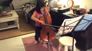 Third week of cello