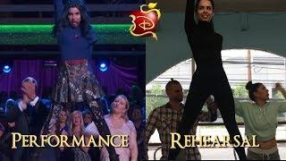 Descendants 2 (Descendientes 2) | Ways To Be Wicked | Performance Vs Rehearsal | Descendants 3