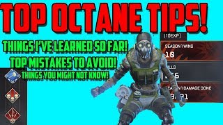 Apex Legends - Top Octane Tips and Tricks   Useful Things you might Not Know!
