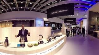 LIVE@IFA: 360 Panasonic Booth Tour