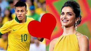 Deepika Padukone's Special Connection With Star Footballer Neymar Jr ! width=