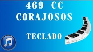 469 CC CORAJOSOS - CANTOR CRISTÃO - TECLADO