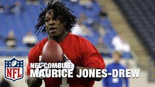 MJD Relives 2006 NFL Combine Highlights | NFL Now Combine LIVE