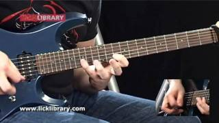 Learn To Play Megadeth - Symphony Of Destruction - Solo Performance With Andy James Licklibrary
