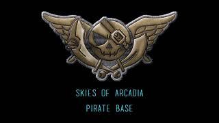 Skies of Arcadia - Pirate Base (Seaboard Cover)