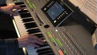 How Deep Is Your Love -  Carlton -  Yamaha Tyros 3