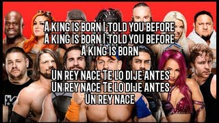 "WWE Royal Rumble 2018 Official Theme Song ""King is born"" Subtitulado Ingles-Español"
