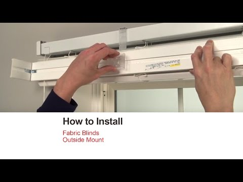 How To Install Your Blinds And Shades Costco Bali