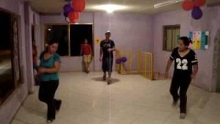 ANA BARBARA ROMPIENDO CADENAS  DANCE REVOLUTION
