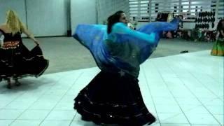 CIGANA LUA - dança cigana livre com véu 2
