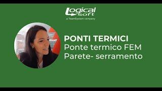 Ponte termico FEM Parete- serramento