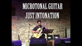 Flynn Cohen - Microtonal Guitar - Just Intonation