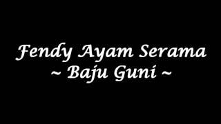 Fendy Ayam Serama - Baju Guni (High Quality)