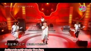 Spyair - サクラミツツキ  英語の翻訳 (Sakura Mitsutsuki) English subs